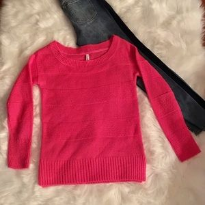 AEROPOSTALE Pink Soft Sparkly Sweater